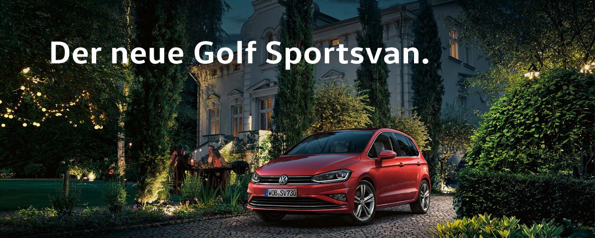 Der neue GolfSportsvan