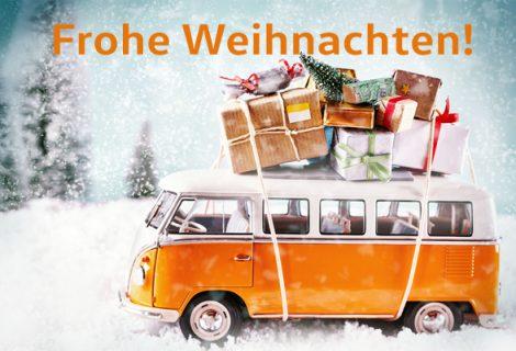 Das Autohaus Karl Moser wünscht Ihnen ein besinnliches Weihnachtsfest