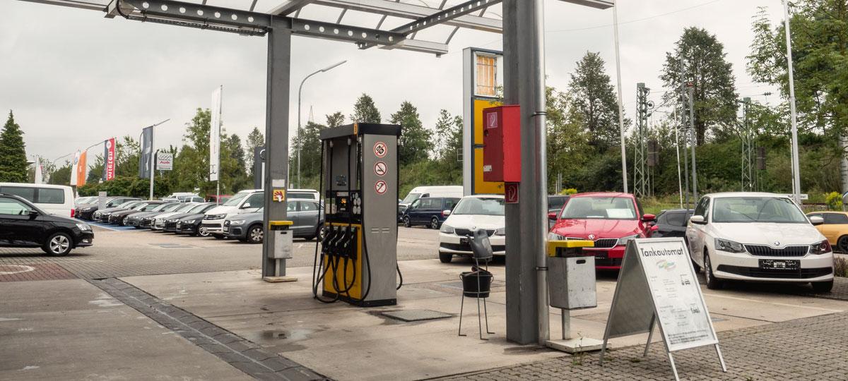 Tankstelle Autohaus Karl Moser Puchheim2