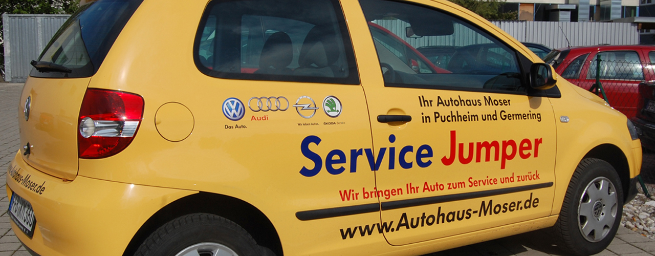 Hol- und Bringservice vom Autohaus Karl Moser